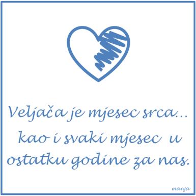 Srce-veljaca